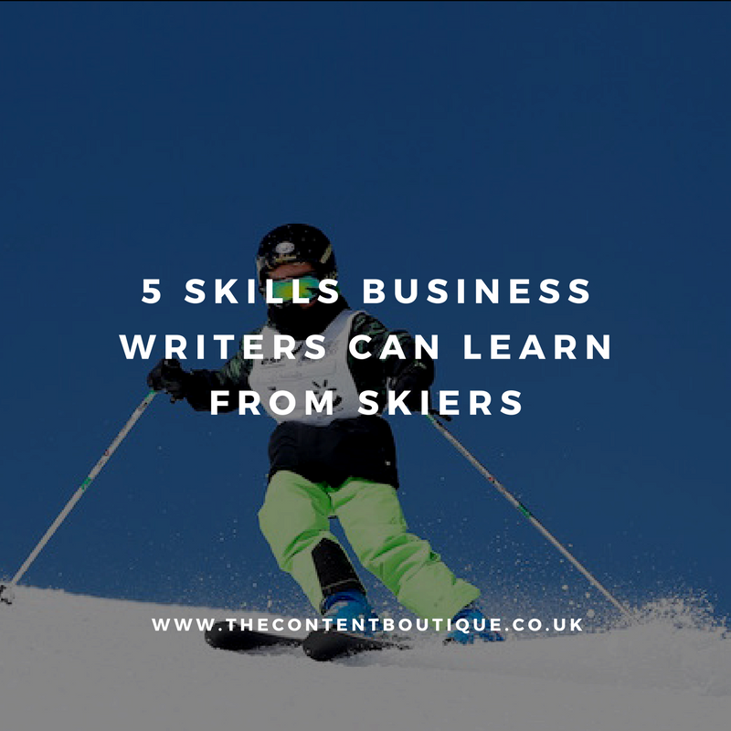 5 skills business writers can learn from people who ski