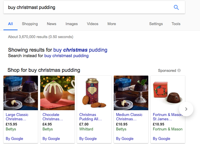Shop Christmas Pudding: SEO in 2018. What you need to know.