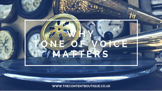 Why tone of voice matters when writing marketing copy