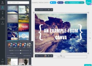 Productivity tool: Canva