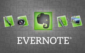 Productivity app: Evernote