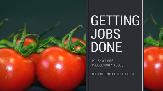 Getting jobs done: My 5 favourite productivity tools
