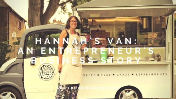 Hannah's Van: An entrepreneur's business story