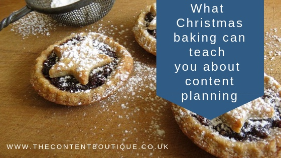 What Christmas baking can teach you about content planning