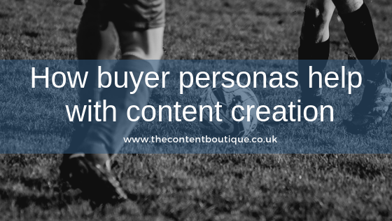 How buyer personas help with content creation