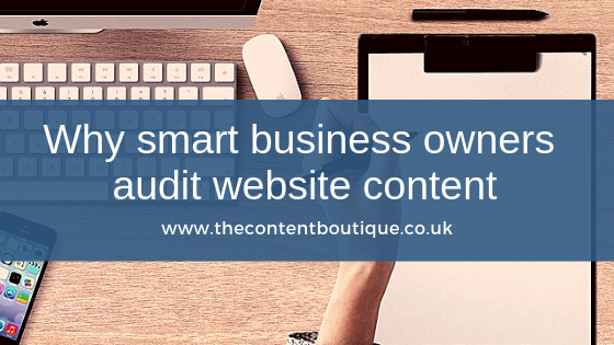 Why smart business owners regularly audit their website content