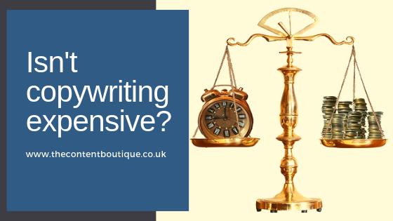 Isn't copywriting expensive?
